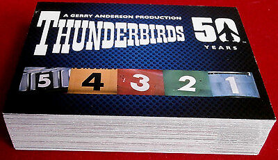 THUNDERBIRDS 50 Years - COMPLETE BASE SET (54 cards) - Unstoppable 2015