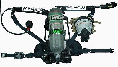 Msa M7 4500 Psi Scba 2007 Nfpa Complete