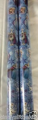 Frozen Elsa Anna 2 x 4m x 69cm gift wrap wrapping paper xmas or birthday](Scooby Doo Birthday Wrapping Paper)