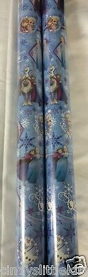 Frozen Elsa Anna 2 x 4m x 69cm gift wrap wrapping paper xmas or birthday ](Scooby Doo Birthday Wrapping Paper)