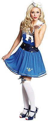 Sexy Pin-Up Matrosin Kostüm für Damen NEU - Damen Karneval Fasching Verkleidung