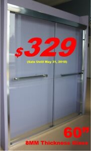 Shower Doors from $169, Thick Glass, Shower Enclosure Sale