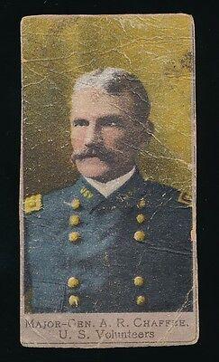 1901 T175 Sweet Caporal Heroes Of Spanish War  Package Design   Maj Gen Chaffre