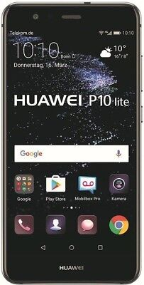"Huawei P10 lite schwarz 32GB LTE Android Smartphone 5,2"" Display 12 Megapixel"