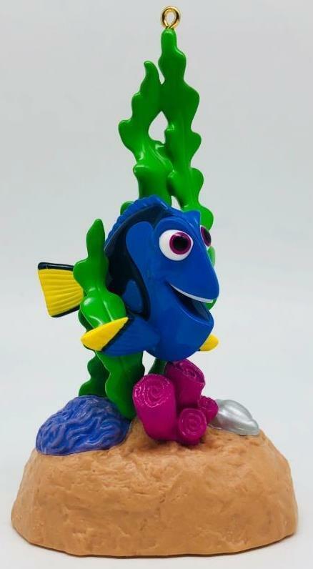 2016 Dory Hallmark Ornament Disney Pixar Finding Dory LETTER E ON BOX