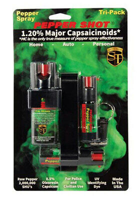 Pepper Spray 3 Pack Home,Office,Auto Self Defense PROTECTION SEE RESTRICTIONS -  - $19.95