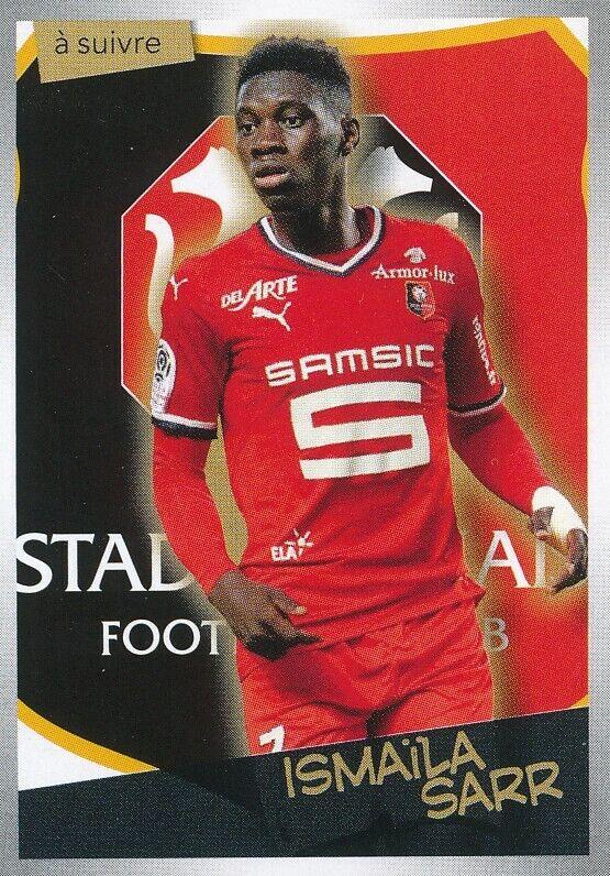 414 ismaila sarr stade rennais.fc watford.fc sticker panini foot 2018