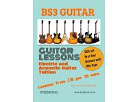 BS3 Guitar lessons 50% off!