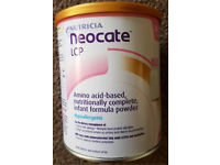 Nutricia Neocate LCP 0+ baby milk
