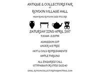 Roydon Antiques and Collectors Fair