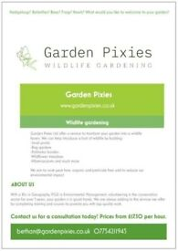 Wildlife gardening service