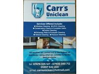 Window Cleaning, Gutter Clearance, Car Valeting