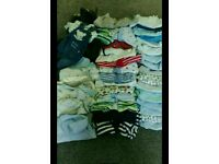 0-3 month baby boy bundle £7 if gone today