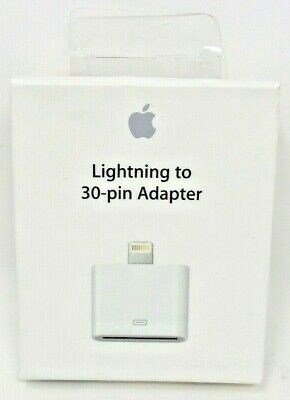 Apple Lighting To 30-pin Adapter MD823AM/A New Official Genuine
