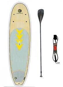 SUP Package BRAND NEW.  C4 Waterman Da BeachBoy, paddle and leash Huskisson Shoalhaven Area Preview