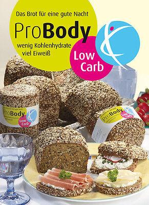 Low Carb Brot 1,6 kg Fertigmischung ProBody Kohlenhydratarmes Brot