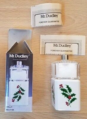 Vintage Mr. Dudley Salt Shaker/Pepper Mill All in One- new in (All In One Salt And Pepper Mill)