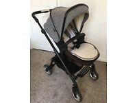 SilverCross Limited Edition Wayfarer Pram/Pushchair in Elton Grey