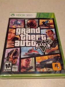 Grand Theft Auto 5 for xbox 360, GTA V, mint condition