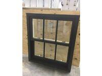 Timber Contemporary Dual colour sliding sash 995w x 1110h