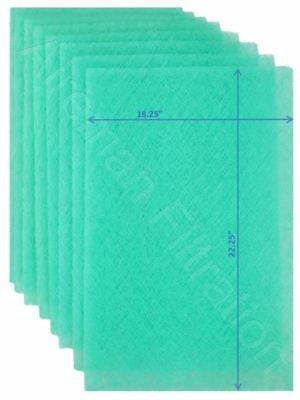 Wingman1™- 20x25x1 Electronic AC Furnace Air Filter Replacement Pads Year Supply ()