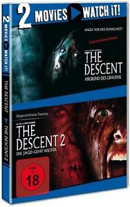 The Descent / The Descent 2 (2014) - DVD - FSK 18 - NEU & OVP