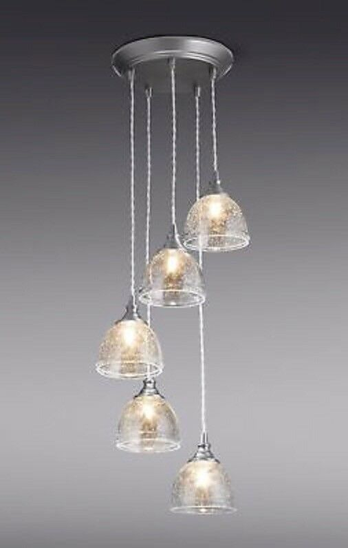 Brand New Next Bergen 5 Light Cluster Pendant Ceiling Fitting Chandelier Rrp 163 120 In Coventry West Midlands Gumtree