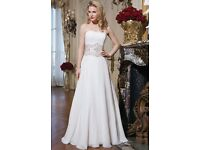 Brand new Justin Alexander Wedding dress size 12 RRP £1,200