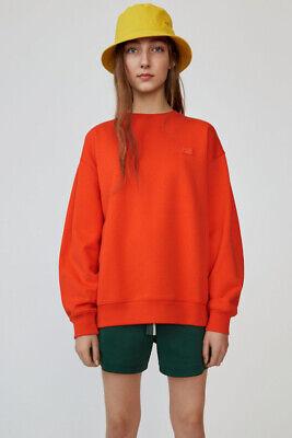 ACNE STUDIOS Oversized Sweatshirt Paprika Red M