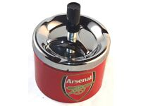 10 x Arsenal Ashtray Cigarette Tobacco Novelty Smoking Metal