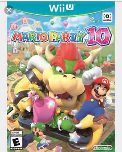 Mario Party 10 with Bowser amiibo