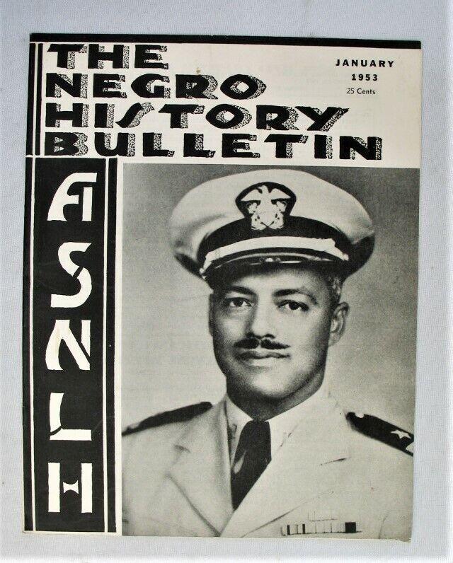 Vintage Magazine - The Negro History Bulletin - ASNLH -- Jan. 1953