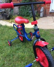 Spiderman Toddlers First Bike
