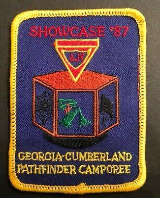 1987 Georgia Cumberland Conference Camporee Pathfinder Patch