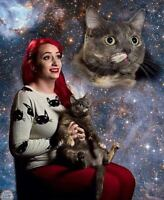 ISO Silly photo op with owner/cat