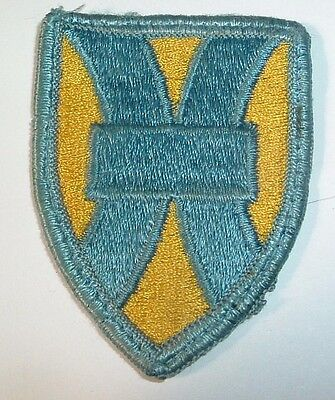 AMERICAN PATCHES-1970/1980 U.S ARMY 1st SUPPORT BRIGADE BRIGADE FULL COLOUR