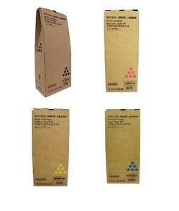 Genuine Ricoh 841357 841358 841360 841359 Toner Cartridges (1 set of 4)