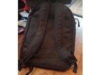 Black Levis Strauss Backpack / Bag, Used but good condition