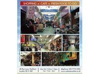 Shop to let in Vibrant Rye Lane Market Peckham