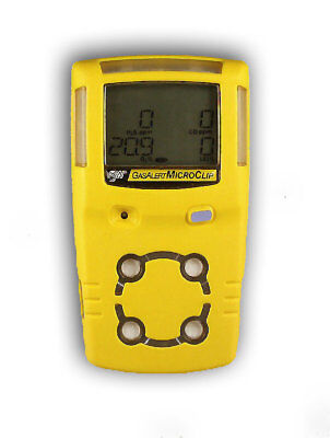 Bw Technologies Gasalert Microclip Xt Multi-gas Detector With Charger.calibrated