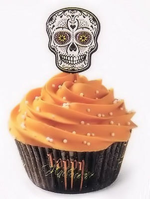 Skull Day of the Dead Halloween Cupcake Combo Pack from Wilton 3178 NEW](Day Of The Dead Cupcakes)