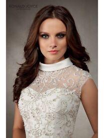 Stunning unworn Ronald Joyce Abigail wedding dress!