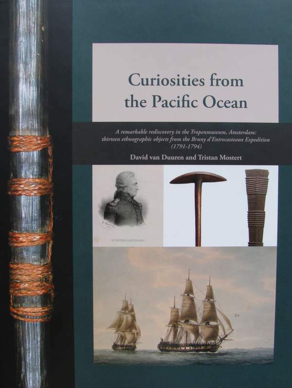 BOOK : CURIOSITIES FROM THE PACIFIC OCEAN from the Bruny d