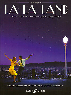 La La Land Soundtrack Filmmusik Songbook Noten Easy Piano Klavier leicht