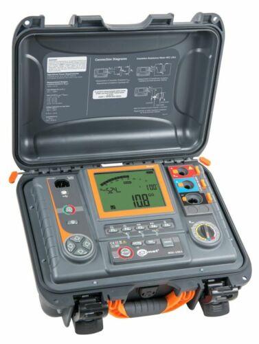 Sonel MIC-15k1 15kV Insulation Tester 40 TΩ MegOhmMeter Canada Edition