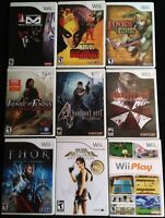 Nintendo Wii Games SPECIAL PRICE