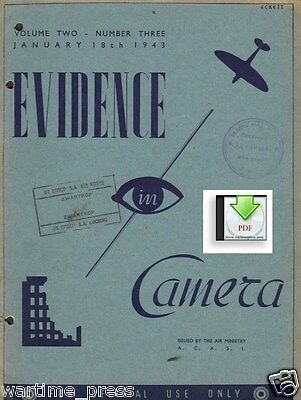 2x Evidence in Camera 1943 Pantelleria St. Malo Swinemunde - a Digital PDF Doc