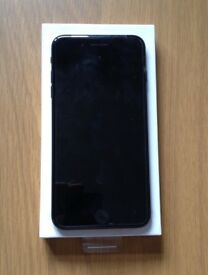 iPHONE 7plus+, 128GB, JET BLACK, VERY GOOD CONDITION