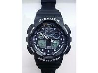 Gshock GA100 Black-White