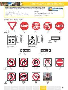 TRAFFIC SIGNS - STOP SIGNS - REGULATORY SIGNS